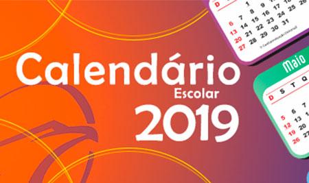 Calendário Pedagógico 2019 - ETL