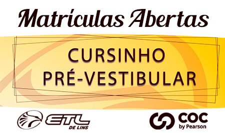 Cursinho Pré-Vestibular ETL/COC - ETL