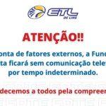 Atenção, linha telefônica suspensa - ETL
