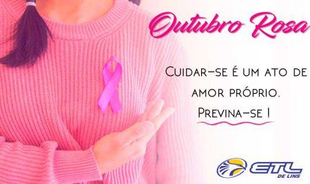 Outubro Rosa, um mês para refletir sobre a saúde