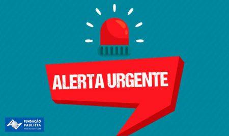 Alerta urgente da FPTE