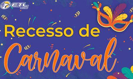 Recesso de Carnaval 2021
